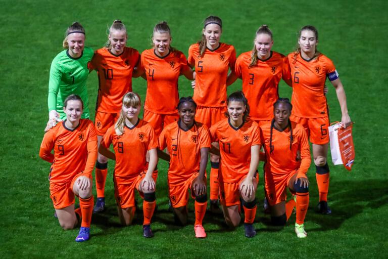 Teamfoto Oranje O19