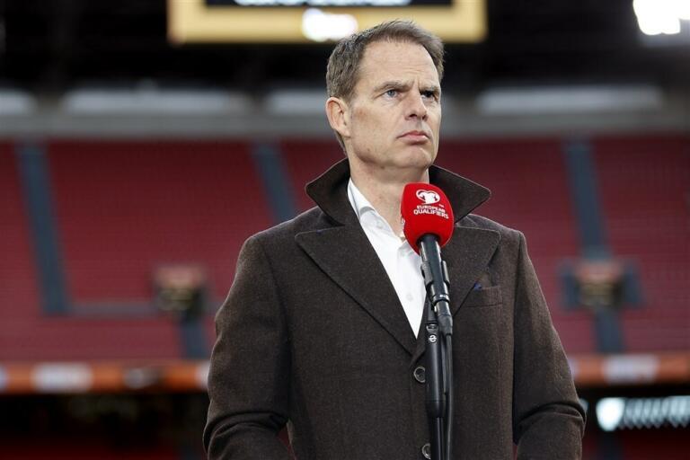 Frank de Boer als bondscoach