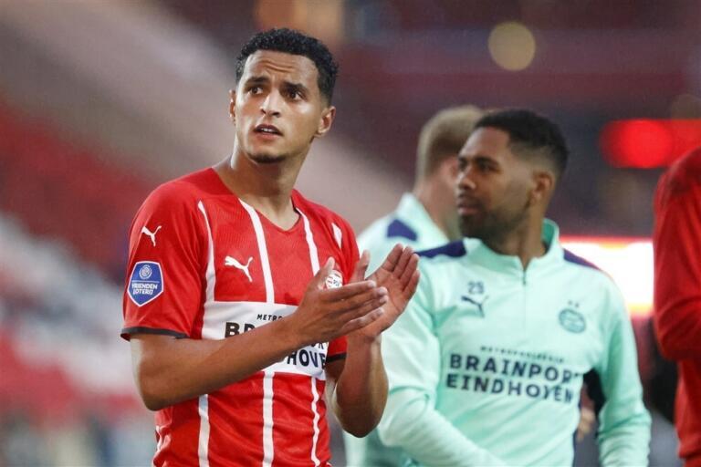 Mohamed Ihattaren in dienst van PSV