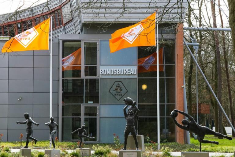 Het gebouw van de KNVB in Zeist