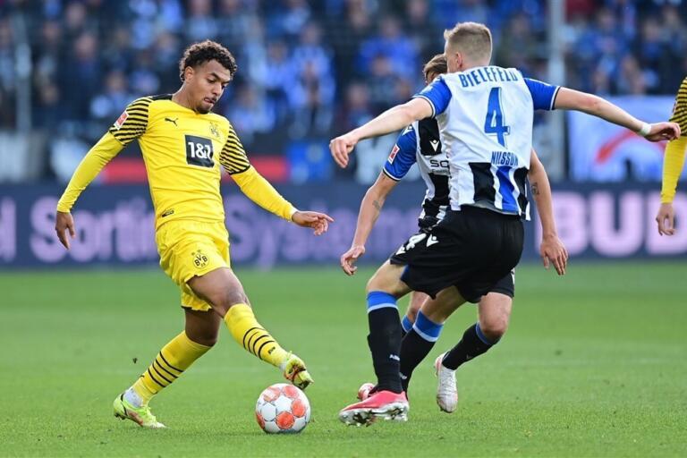 Donyell Malen in dienst van Borussia Dortmund