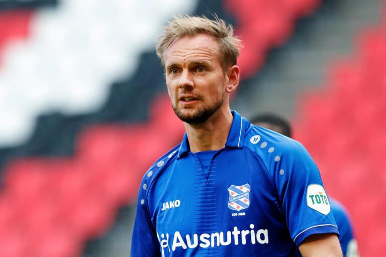 Siem de Jong in het shirt van SC Heerenveen